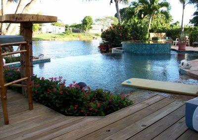 infinity swimming pool